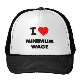 I Liebe-Mindestlohn Kappen
