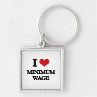 I Liebe-Mindestlohn Schlüsselband