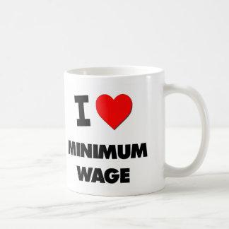 I Liebe-Mindestlohn Kaffeetasse