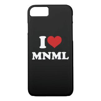 I Liebe minimal iPhone 8/7 Hülle