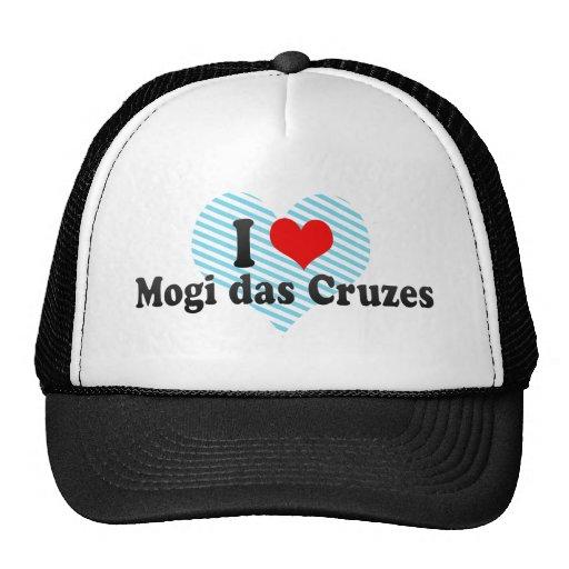 I Liebe Mogi DAS Cruzes, Brasilien Retrokultkappen
