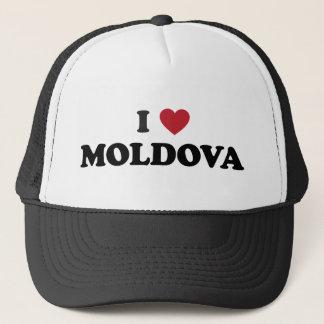I Liebe Moldau Truckerkappe