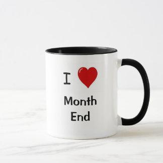 I Liebe-Monatsende! CPA Tasse