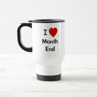I Liebe-Monatsende - motivierend Edelstahl Thermotasse