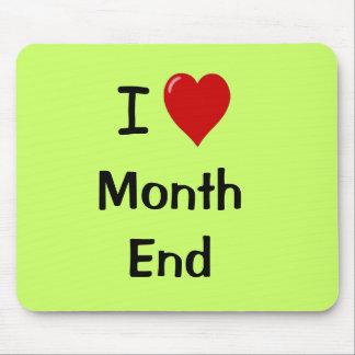 I Liebe-Monatsende - motivierend Zitat Mauspads