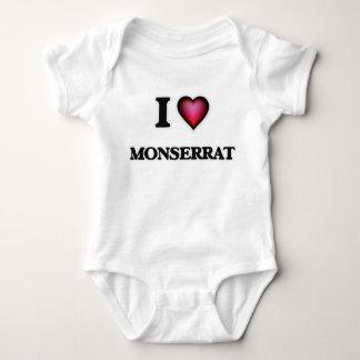 I Liebe Montserrat Baby Strampler