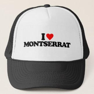 I LIEBE MONTSERRAT TRUCKERKAPPE