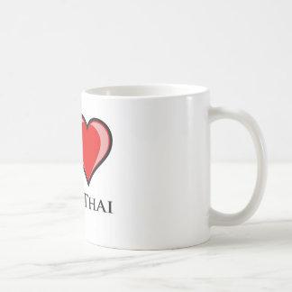 I Liebe Muay thailändisches Kaffeetasse