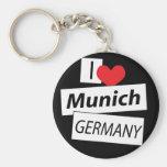 I Liebe München Deutschland Schlüsselbänder