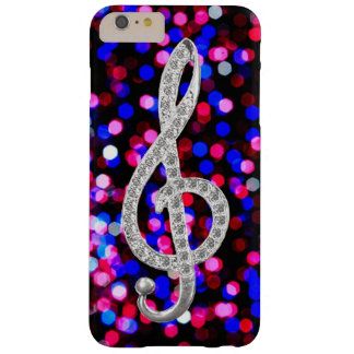 I Liebe-Musik G-Clef Barely There iPhone 6 Plus Hülle