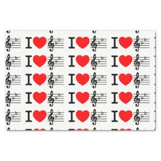 I Liebe-Musik Seidenpapier