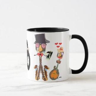 I Liebe-Musik-Tasse Tasse