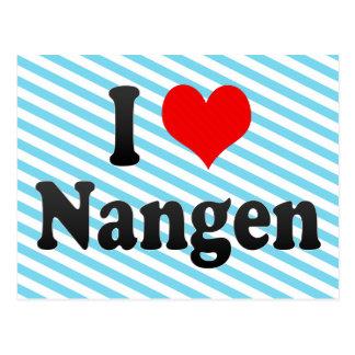 I Liebe Nangen, Korea Postkarte