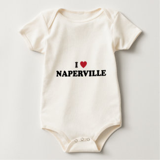I Liebe Naperville Illinois Baby Strampler