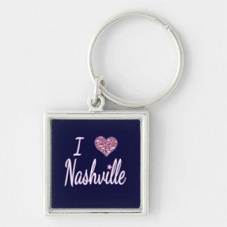 I Liebe Nashville Schlüsselanhänger