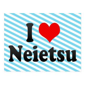 I Liebe Neietsu, Korea Postkarte