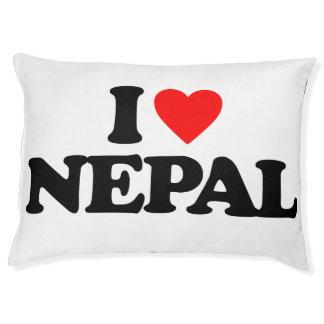 I LIEBE NEPAL HAUSTIERBETT