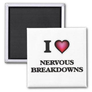 I Liebe-nervöse Zusammenbrüche Quadratischer Magnet