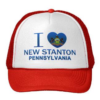I Liebe neuer Stanton, PA Truckercap