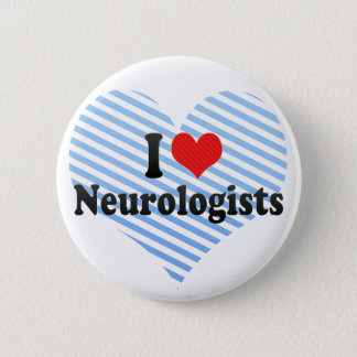 I Liebe-Neurologen Runder Button 5,7 Cm