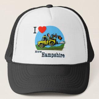 I Liebe-New Hampshire Land-Taxi Truckerkappe