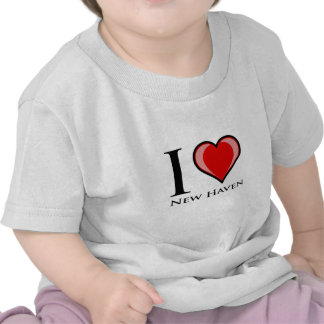 I Liebe New-Haven Hemden