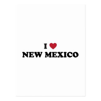 I Liebe New-Mexiko Postkarte