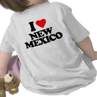 I LIEBE NEW-MEXIKO HEMDEN