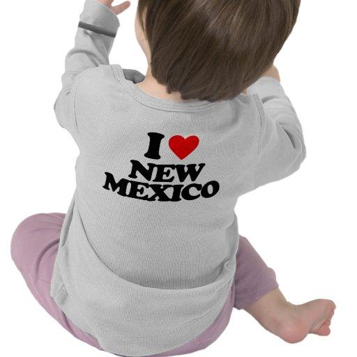 I LIEBE NEW-MEXIKO HEMD