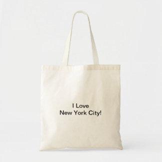 I Liebe New York City! Tragetasche