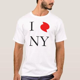 I Liebe New York in Irene-Hurrikan T-Shirt