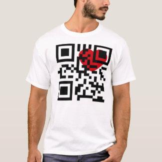 I LIEBE NEW YORK QR (SCHNELLER WARTEcode) T-Shirt