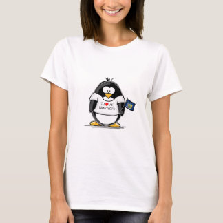 I Liebe-New YorkPenguin T-Shirt
