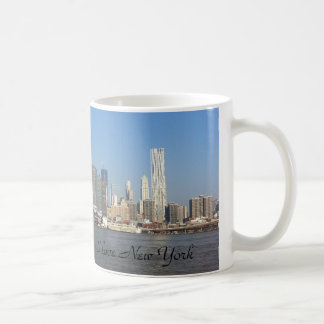 I Liebe-New Yorkskyline-Tassen-Kaffeetasse Kaffeetasse