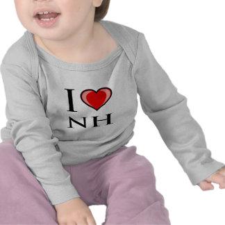 I Liebe NH - New Hampshire Hemd