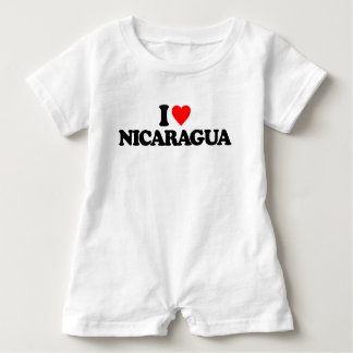 I LIEBE NICARAGUA BABY STRAMPLER