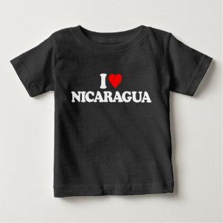I LIEBE NICARAGUA BABY T-SHIRT