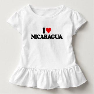 I LIEBE NICARAGUA KLEINKIND T-SHIRT