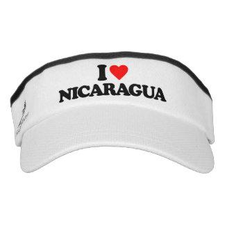 I LIEBE NICARAGUA VISOR