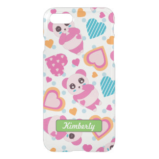 I Liebe-niedliche Pandas iPhone 8/7 Hülle