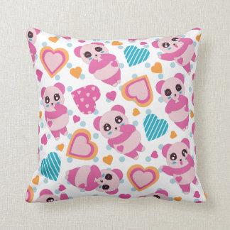 I Liebe-niedliche Pandas Kissen