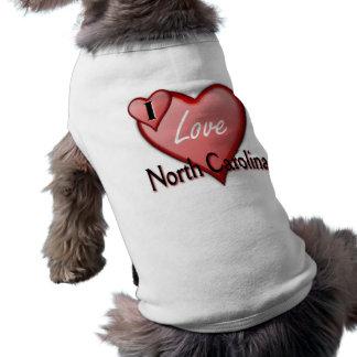 I Liebe Nord-Carolina Top