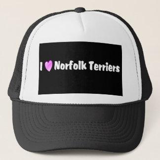 I Liebe-Norfolk-Terrier Truckerkappe