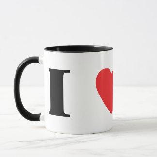 I Liebe-Norweger Elkhounds Tasse