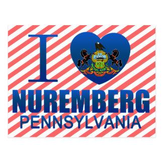 I Liebe Nürnberg PA Postkarte