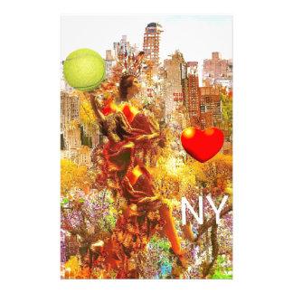 I Liebe NY Briefpapier