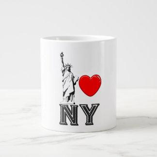 I Liebe NY Jumbo-Tasse