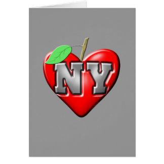 I Liebe NY Karte