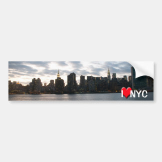 I Liebe NYC Auto Sticker