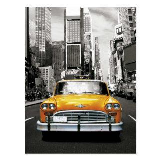 I Liebe NYC - New- Yorktaxi Postkarte
